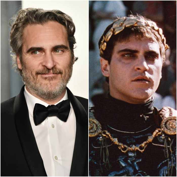 Joaquin Phoenix como Emperador Commodus