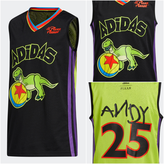 adidas basketball t-shirt toy story 2020 collection