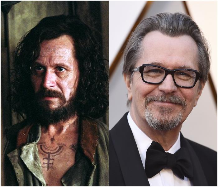Gary Oldman como Sirius Black