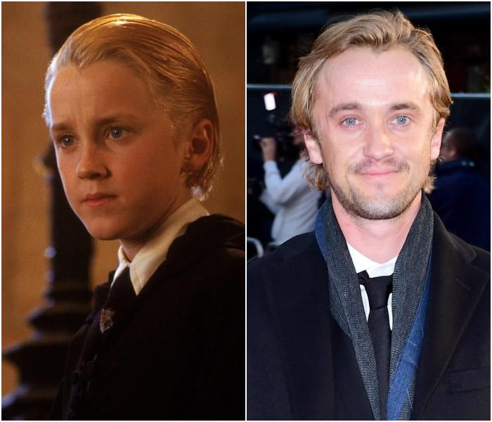 Tom Felton como Draco Malfoy