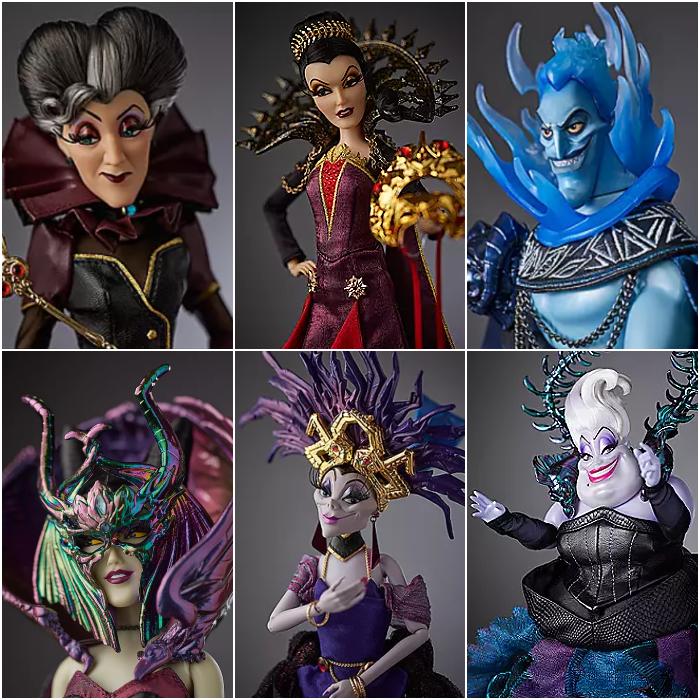 colección de disney villanos