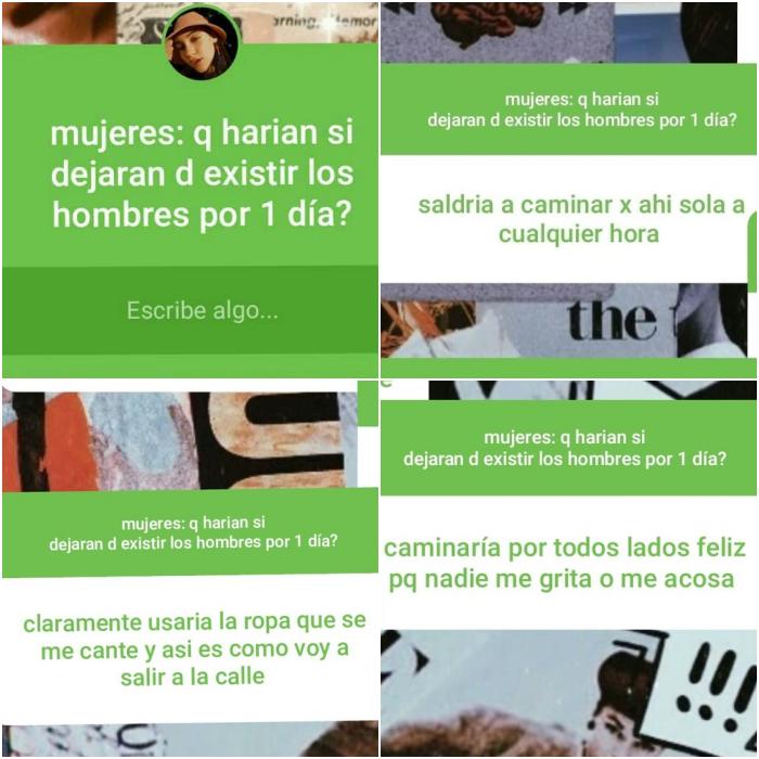 respuestas de instagram un día sin hombres