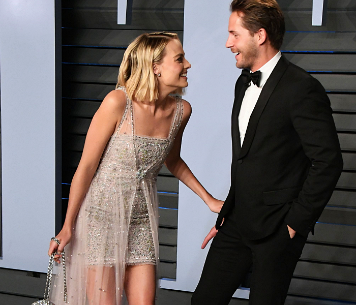 Margot Robbie y Tom Acherley