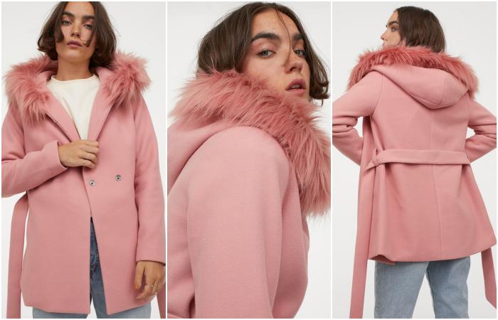 short hair girl wearing pink long sleeve coat and beanie