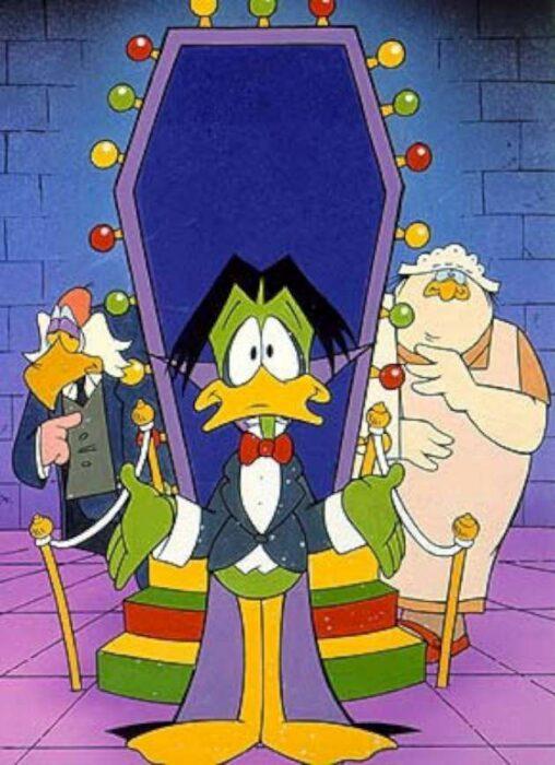 escena de la caricatura animada El Conde Pátula