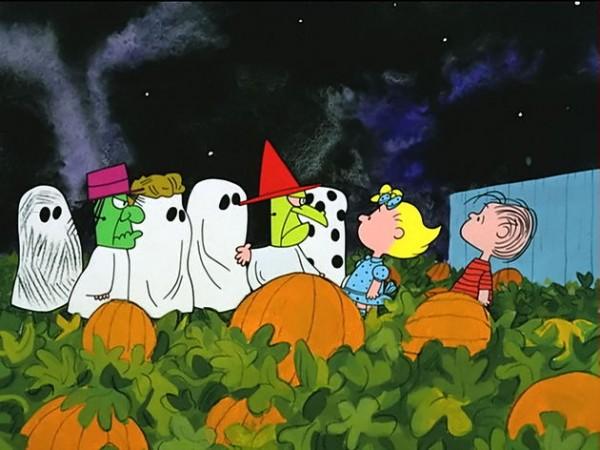 Escena de Charlie Brown: La gran calabaza