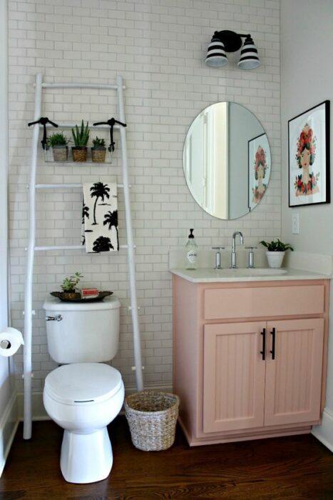 Decoración del hogar del baño estilo Pinterest