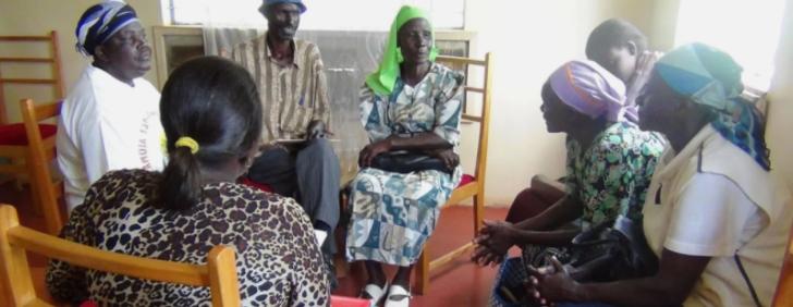 Abuelitos del condado de Nyeri, Kenia