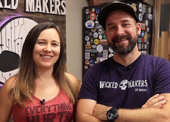 Jamie y Jay, creadores del tobogán de dulces