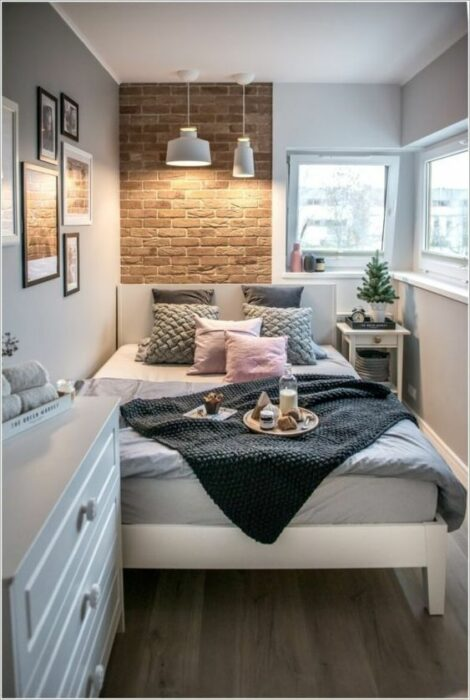 Decoración del hogar de la recámara estilo Pinterest