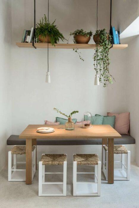 Decoración del hogar de la zona del comedor estilo Pinterest