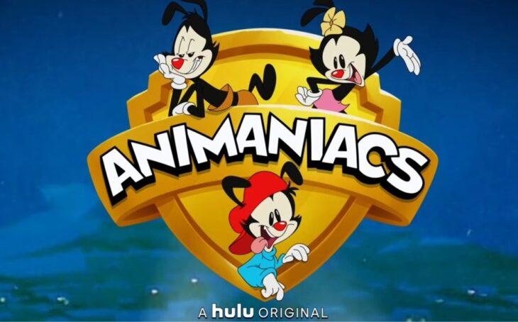 Imagen de publicidad del regreso de Animaniacs en Hulu