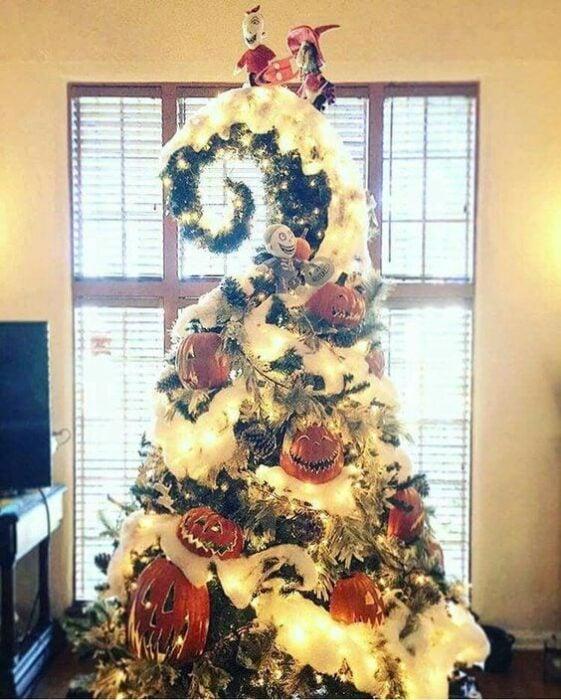 Árbol de navidad de el extraño mundo de Jack