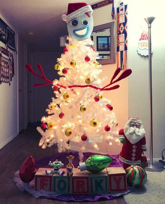 Árbol de navidad de Forky