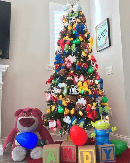 Árbol de navidad de Toy Story