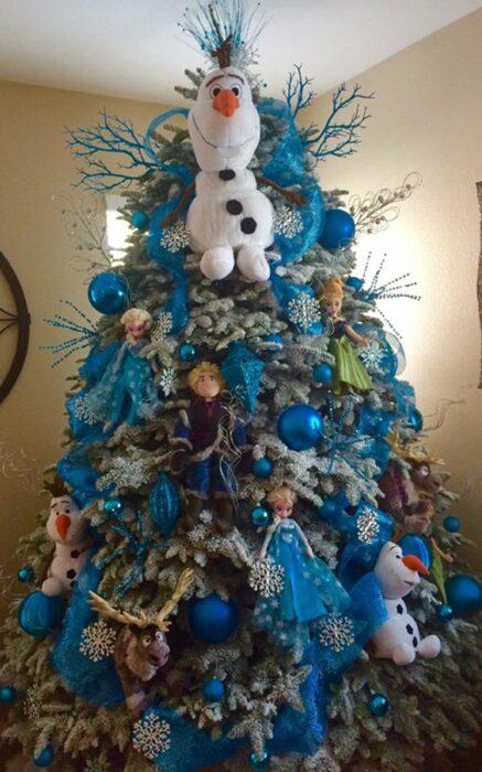 Árbol de navidad de Frozen