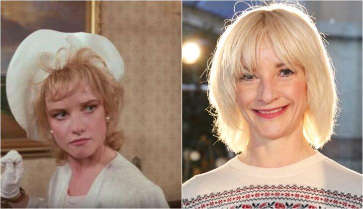 Jane Horrocks; antes y después de participar en la película original de 'Las Brujas'