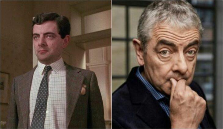 Rowan Atkinson; antes y después de participar en la película original de 'Las Brujas'