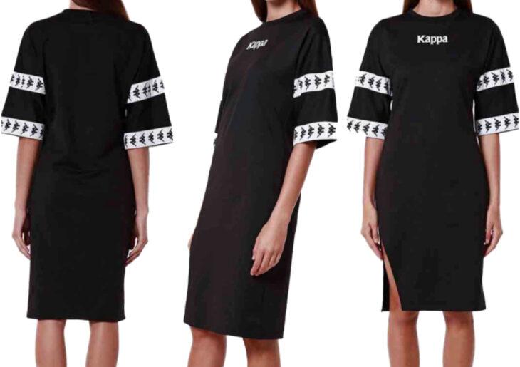 Atuendos deportivos casuales para usar en cualquier momento de Kappa, Liverpool; vestido holgado negro
