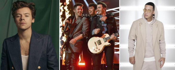 Harry Styles, Jonas Brothers y Daddy Yankee en los Billboard Music Awards 2020
