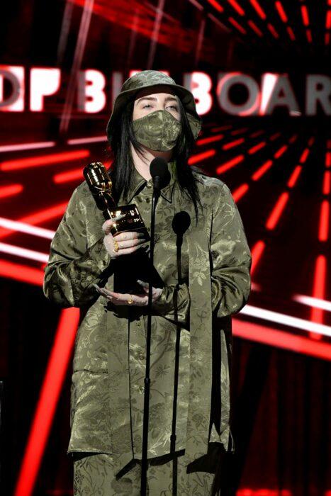 Billie Eilish en los Billboard Music Awards 2020