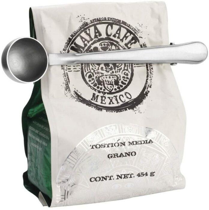 Broche Cuchara para bolsas de café