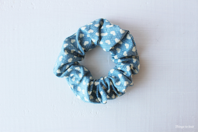Scrunchies step by step