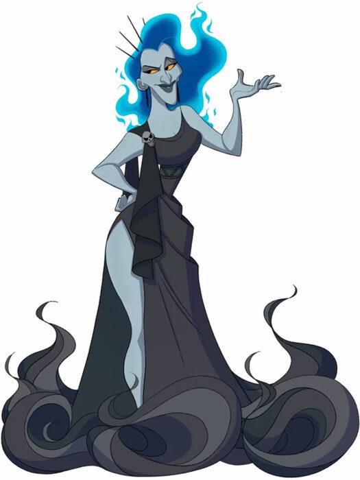 Hades convertido en princesa