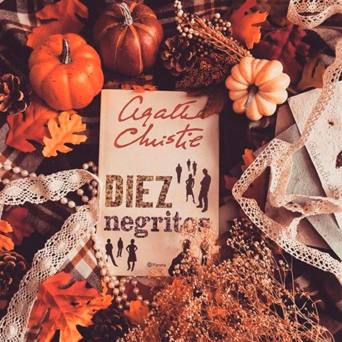 Libro Diez negritos de Agatha Christie