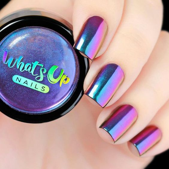 Litmus effect manicure