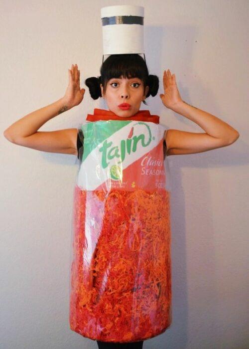 Disfraz de chile tajín