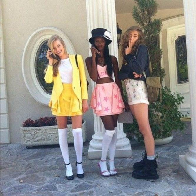 Chicas disfrazadas como los personajes de la película Clueless