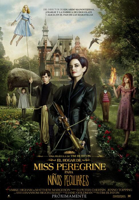 Película El hogar de Miss Peregrine para niños peculiares