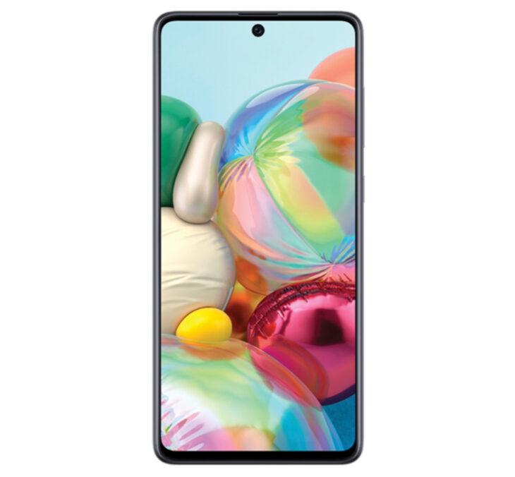 Los mejores celulares smartphone para tomar selfies bonitas; Samsung Galaxy A71