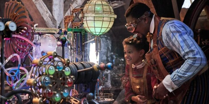 Escena de la película Jingle Jangle: Una mágica Navidad
