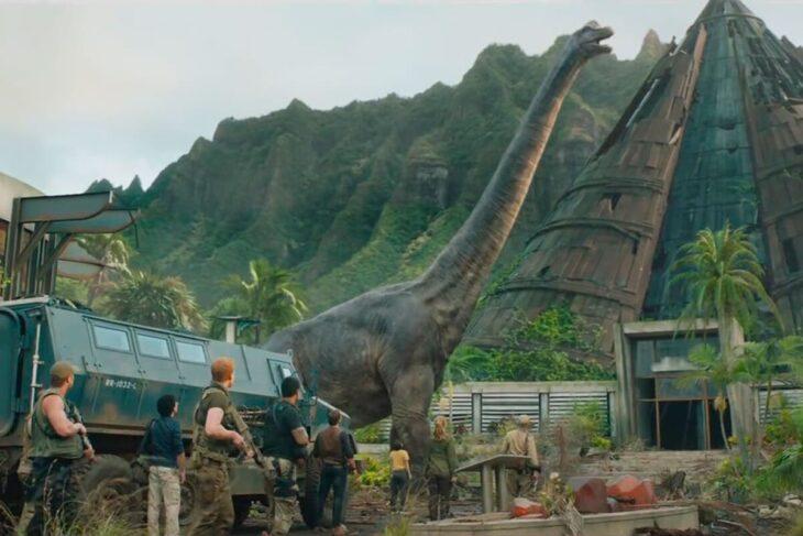 Escena de la película Jurassic World: El reino caído