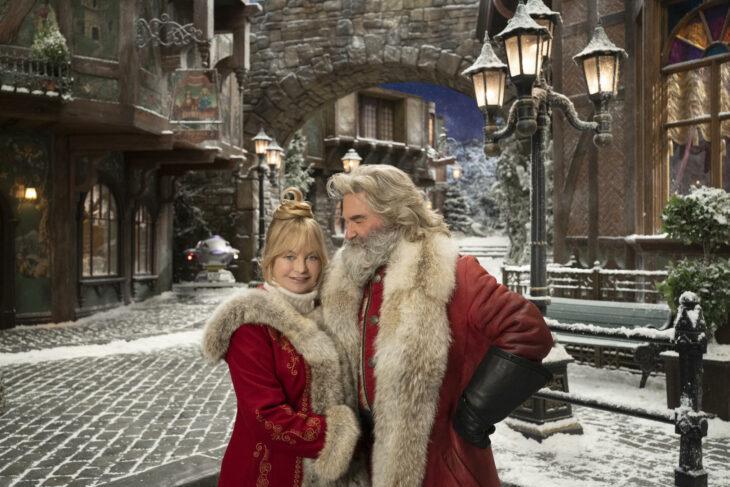 Escena de la película Las crónicas de Navidad: Parte dos con Santa Claus