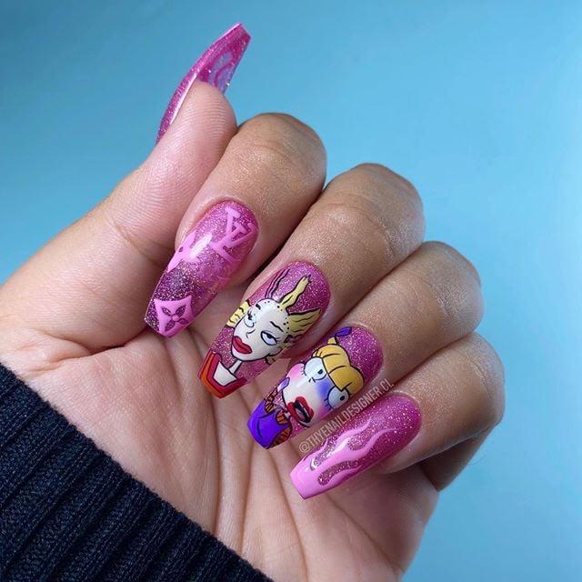 Uñas de Angélica de Rugrats