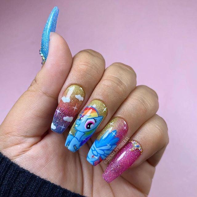 Uñas de mi pequeño pony