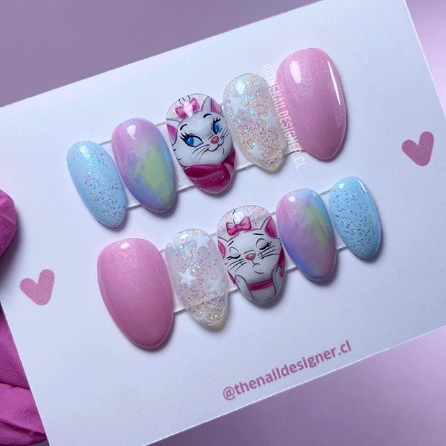 Nails of marie the aristocats