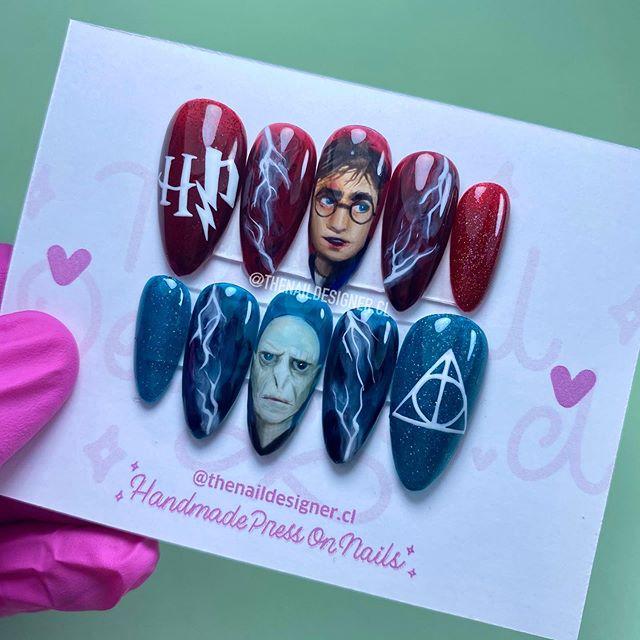 Uñas de Harry potter