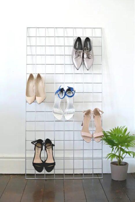 Rejilla para acomodar zapatos
