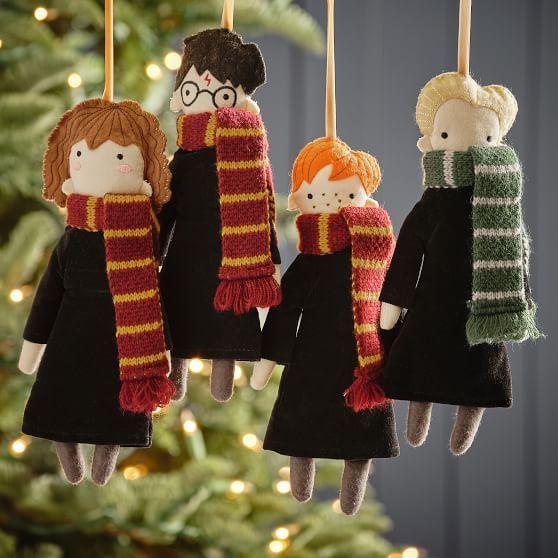 Esefras de fieltro inspiradas en Harry Potter