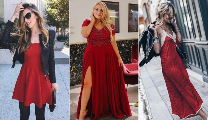 Dresses for women in red