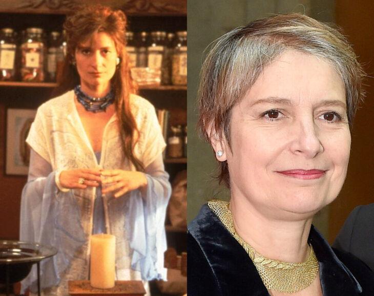 Personajes y atores, actrices, de Jóvenes Brujas; Lirio, Assumpta Serna