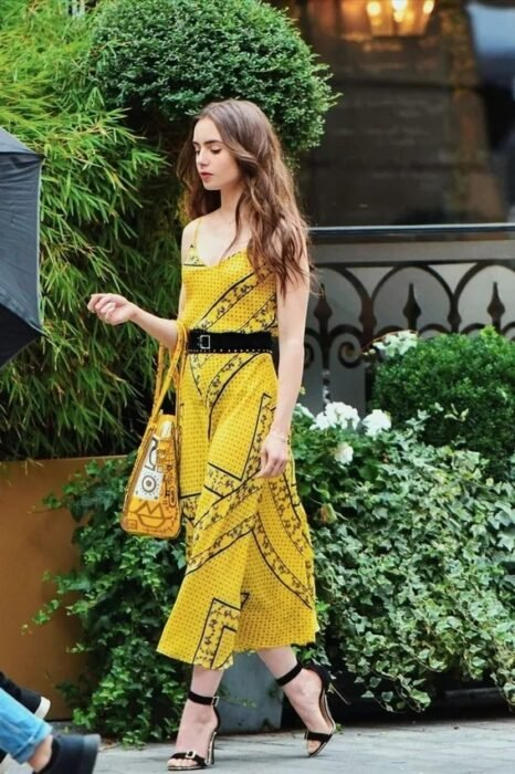 Lily Collins looks in Emily in Paris (3)