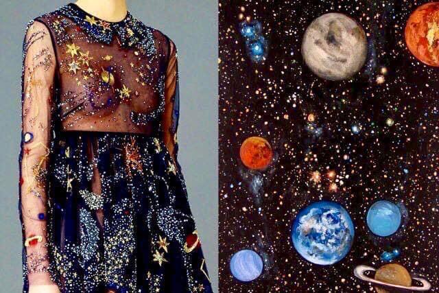 Moda inspirada en arte