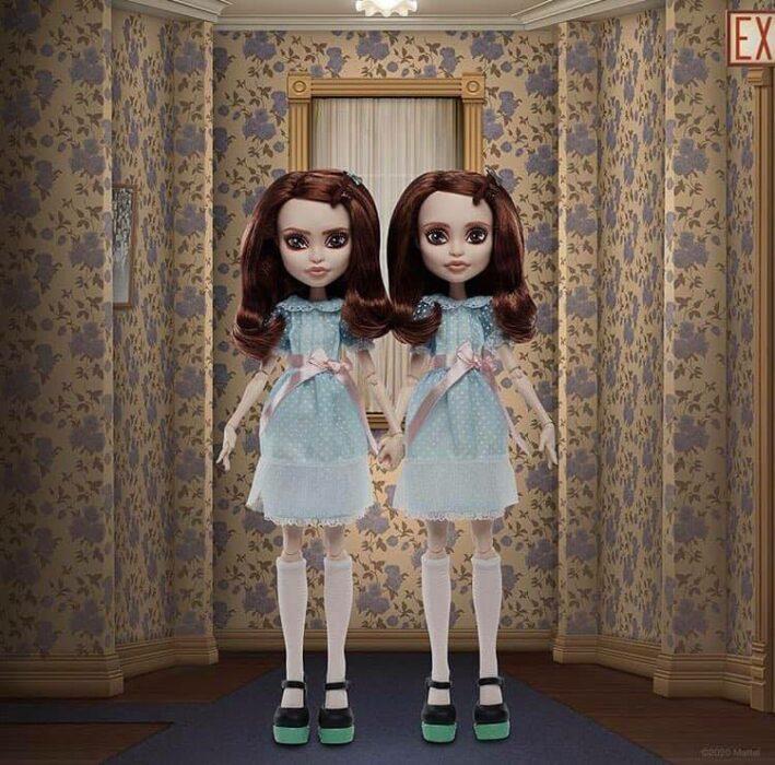 Muñeca Monster High gemelas de El resplandor