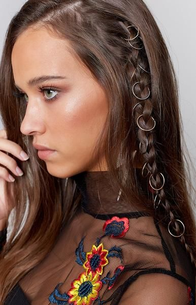 chcia with side braided hair and hoops