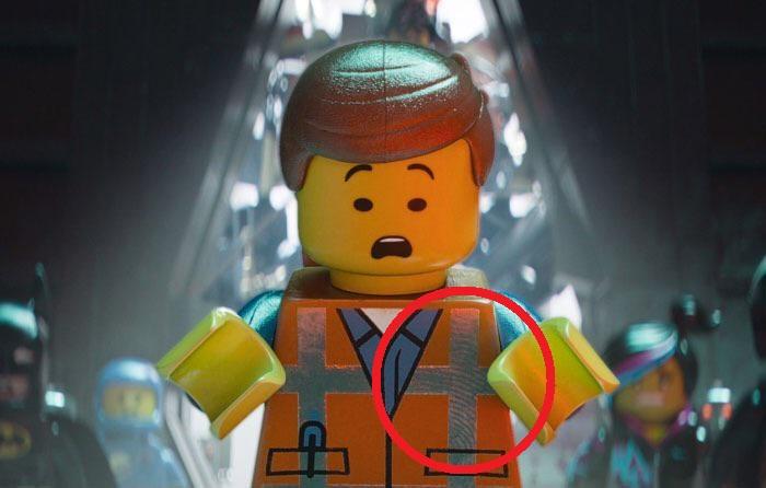 Escena de la película animada La gran aventura LEGO